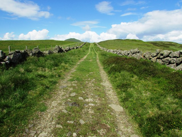 Track to West Lomond
