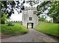 SY2597 : The gatehouse at Shute Barton, Devon by Derek Voller