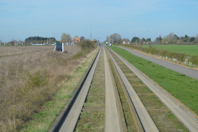 Guided busway & National Cycle Route 51