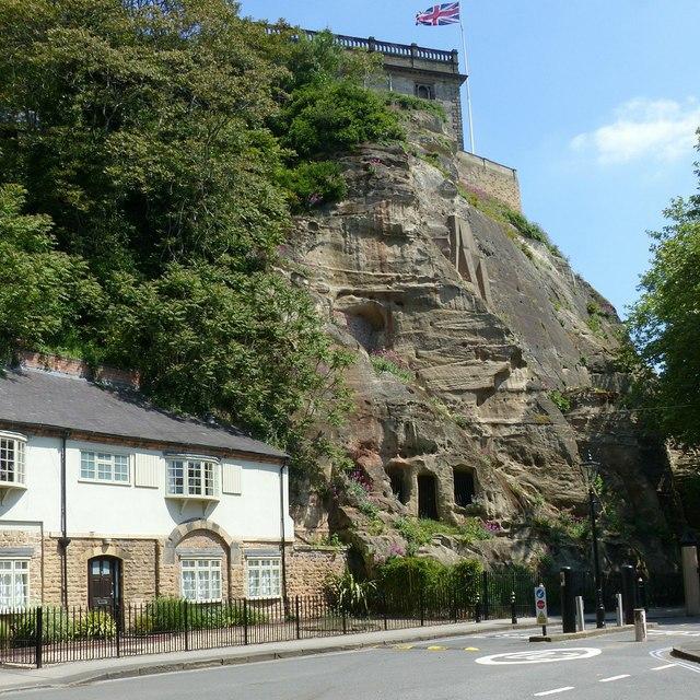 Castle Rock, Nottingham