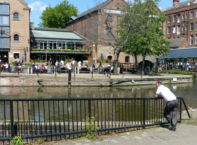 Summer in the City – Nottingham Canal wharf (1)