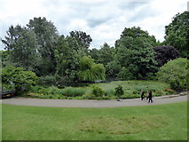TQ2979 : Lake in St James's Park by PAUL FARMER