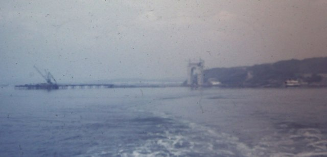 Forth Road Bridge under construction