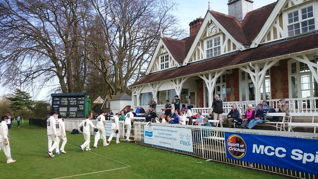 Cricket pavilion, Oxford University Parks