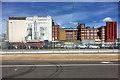 SU4011 : Solent Mills, Southampton Western Docks by David Dixon