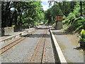 SN6878 : Aberffrwd railway station, Ceredigion by Nigel Thompson