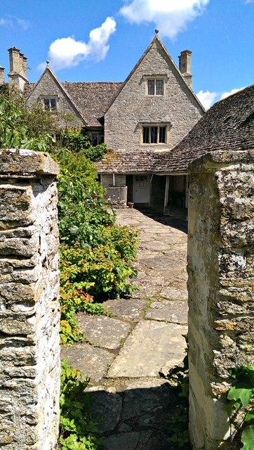 West elevation, Kelmscott Manor, Oxfordshire