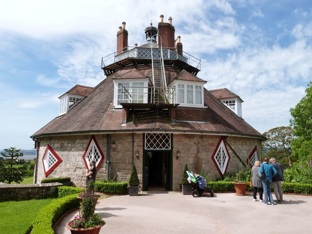 A La Ronde, A quirky sixteen sided house near Exmouth, Devon