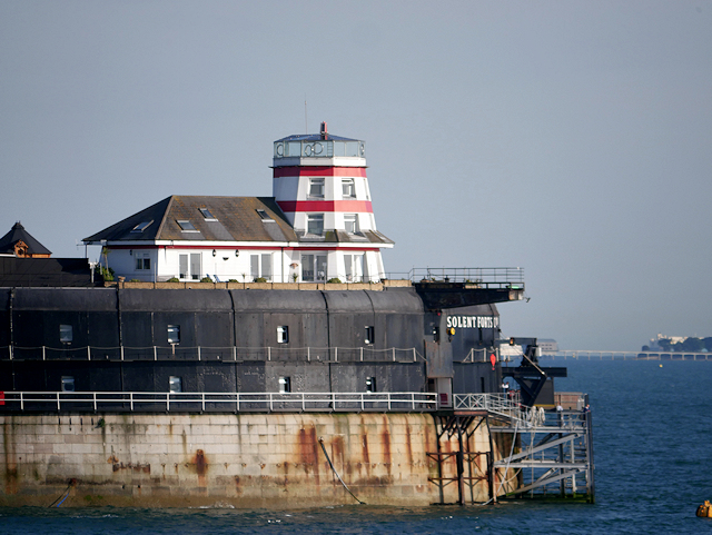 The Solent, No Man's Land fort