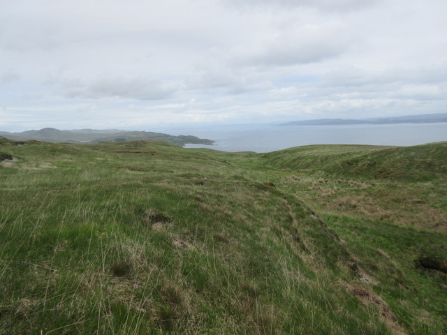 North side of Beinn Sgaillinish