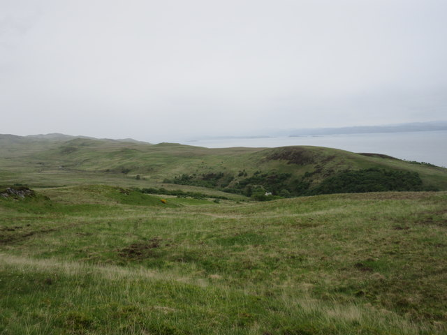Moorland above Lealt