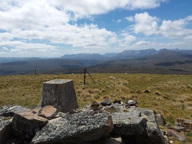Summit of Meallan Chuaich