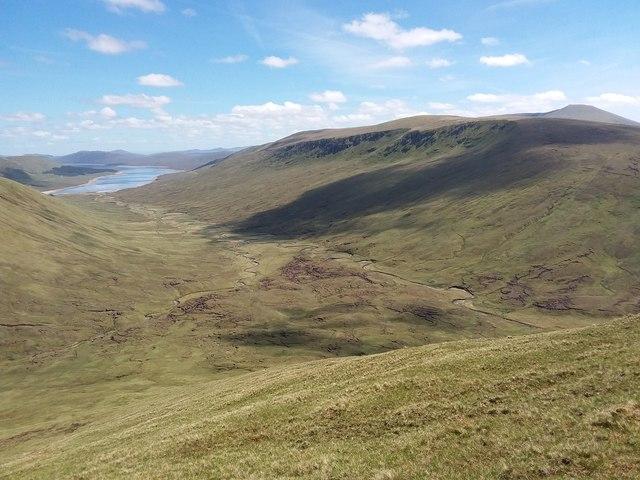 South-east ridge of Meall Chuaich