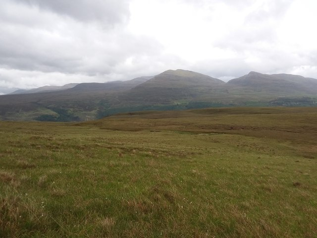 East slopes of Carn Breac Beag