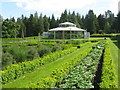NS1060 : Kitchen Garden at Mount Stuart by M J Richardson