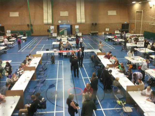 Littledown: the 2017 election count is underway