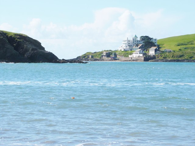 Burgh Island and its famous hotel