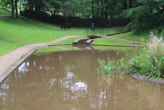 Inlet, Nant-y-Gollen Ponds, Pontypool Park