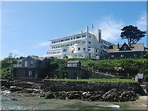 SX6443 : Burgh Island Hotel, Bigbury-on-Sea, Devon by Derek Voller