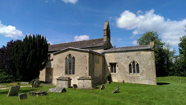 Church of St George, Kelmscott, Oxfordshire