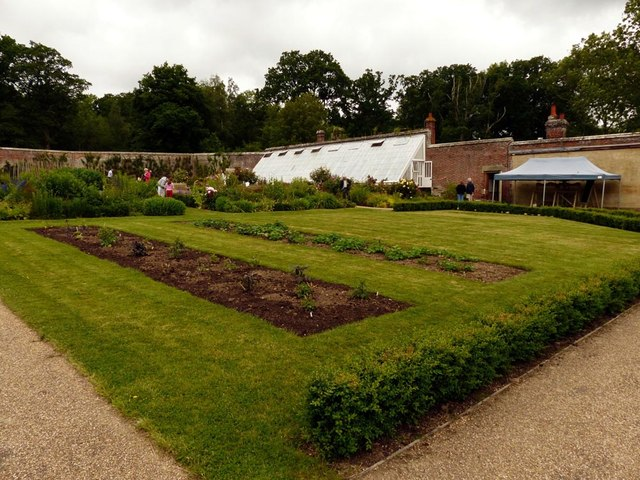 Walled garden, Scotney Castle