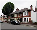 ST1874 : Row of houses, Corporation Road, Grangetown, Cardiff by Jaggery