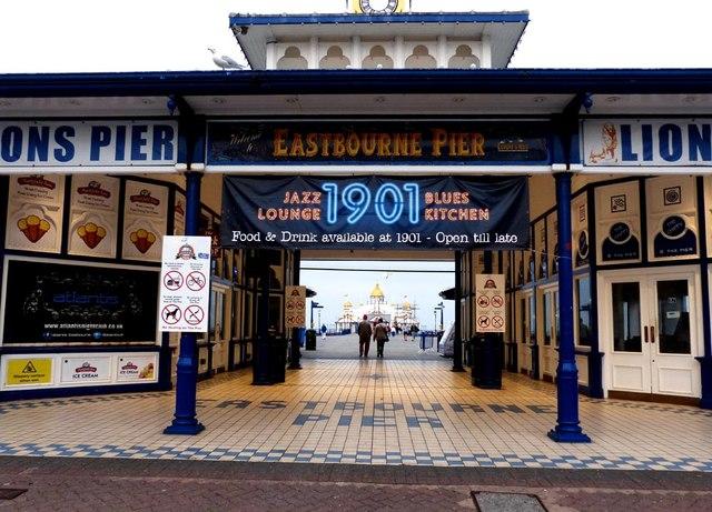 Entrance to Eastbourne Pier
