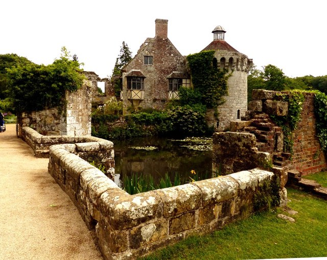 The original Scotney Castle