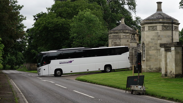 Leaving Basildon Park