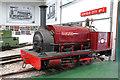SK2406 : Statfold Barn Railway - locomotive Cloister by Chris Allen