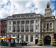 SO5140 : 6-8 and Market Hall, High Town, Hereford by Stephen Richards