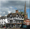 SO5140 : Old House, High Town, Hereford by Stephen Richards