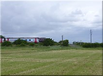 NU0544 : Cross Country train heads north on ECML by Russel Wills