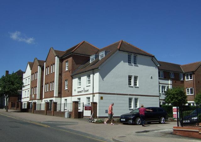 Bennett Court, Letchworth