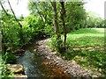 SO2531 : Afon Honddu, Capel y Ffin by Christine Johnstone