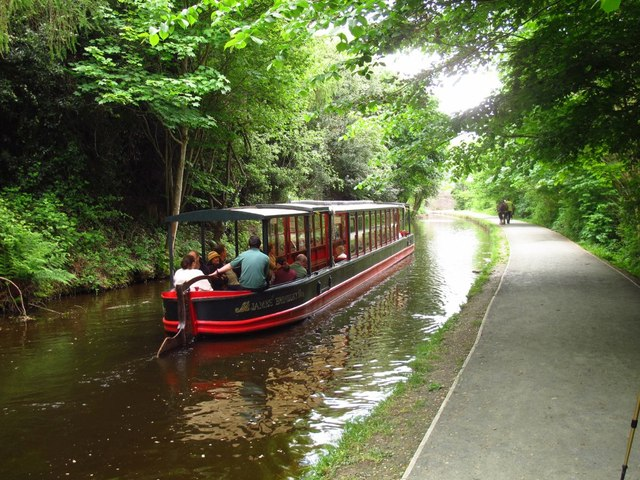 James Brindley on the Llangollen Canal