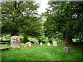 SO2531 : Southern end of the churchyard, Capel y Ffin by Christine Johnstone