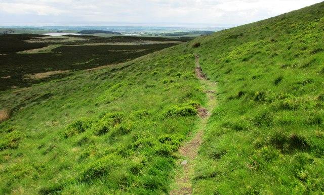 Path around West Lomond