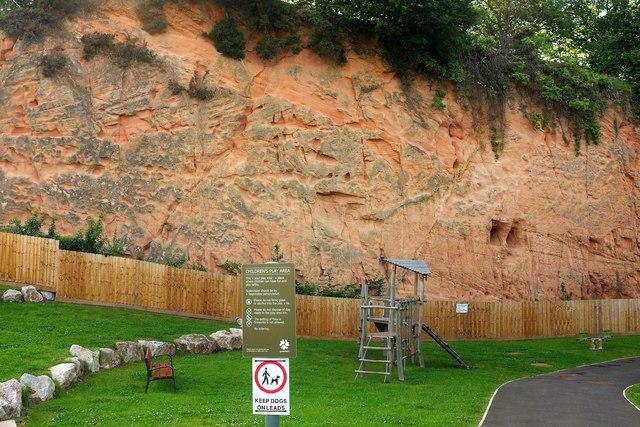 Former quarry, Bishop's Way, Exeter