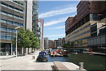 TQ2681 : View of blocks of flats in the Paddington Basin #4 by Robert Lamb