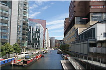 TQ2681 : View of blocks of flats in the Paddington Basin #6 by Robert Lamb