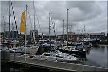 SX4854 : Plymouth : Sutton Harbour by Lewis Clarke