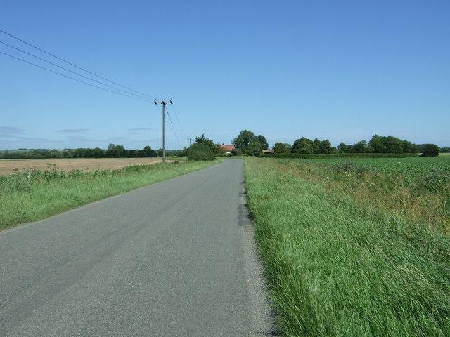 Flecks Lane towards Wendy