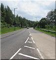 SO1409 : From 40 to the National Speed Limit on the A4048, Tredegar by Jaggery