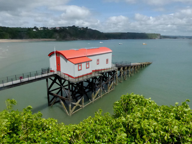 Now a private house the former Tenby lifeboat station