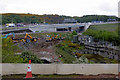 NT1281 : Queensferry Crossing Construction Work by David Dixon