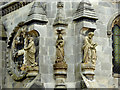 NT2763 : Rosslyn Chapel Statues and Carvings (2) by David Dixon