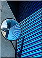 TM2632 : Outpart Eastward, Harwich street view mirror by Matt Harrop