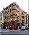 """TQ2881 : """"Golden Eagle"""" public house, Bulstrode Street, Marylebone by Julian Osley"""
