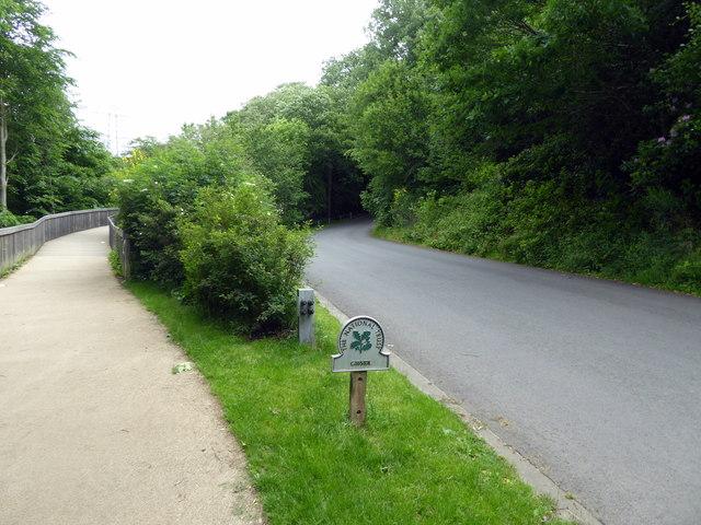 Entrance and Sign, Gibside